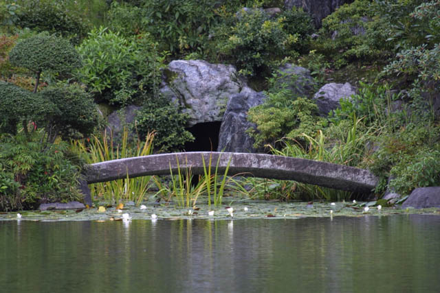 Japanese Garden Stone Bridge japanese garden stone bridge natural pictures getty images for