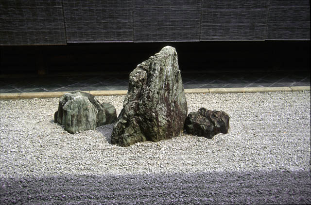 Japanese Gardens - Elements - Stones 1 on