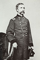 Brigadier General Joshua  Lawrence Chamberlain  <br />  Undated portrait of Chamberlain in his Brigadier General 's uniform.  <br />  Photographer:  Matthew Brady.   <br />  Courtesy the Matthew Brady Collection, National Archives and Records Administration, Washington D.C.  <br />M27.12.25