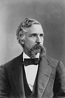 Joshua Chamberlain as President, Bowdoin College,  ca. 1875 <br />  Portrait of Chamberlain during his tenure as president.     <br />   Courtesy the Pejepscot Historical Society, Brunswick, Maine.  <br />M27.12.15